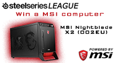 CS:GO Servers SteelSeries MSI Prize