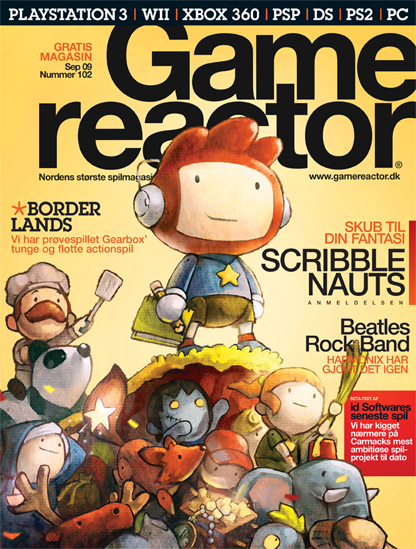 Cover p� Gamereactor nr 102