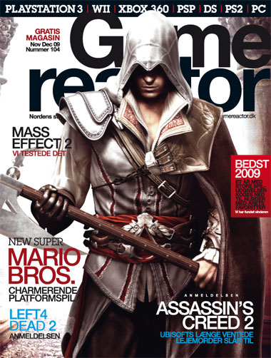 Cover p� Gamereactor nr 104
