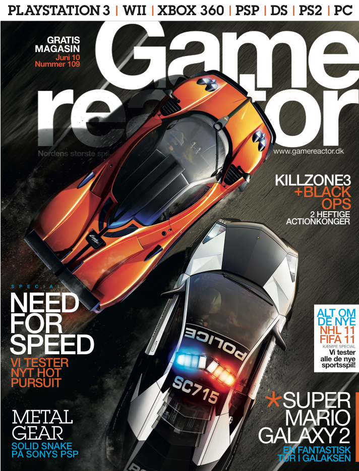 Cover p� Gamereactor nr 109