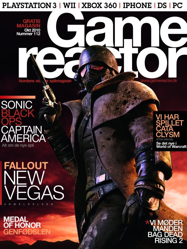Cover p� Gamereactor nr 112