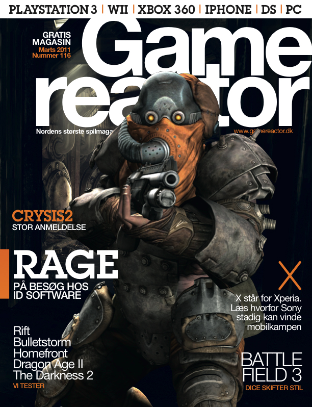 Cover p� Gamereactor nr 116