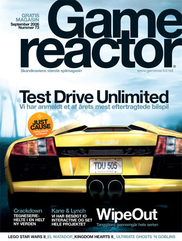 Cover p� Gamereactor nr 73