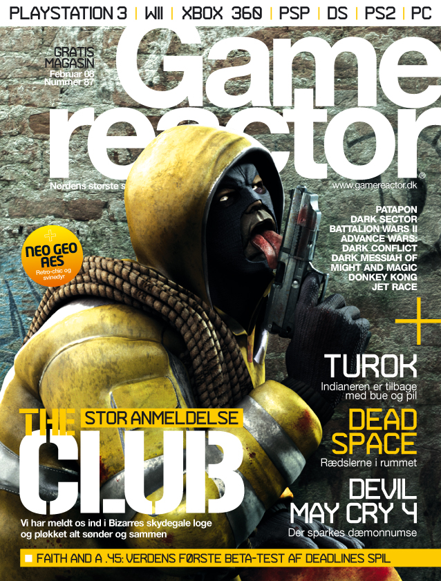 Cover p� Gamereactor nr 87