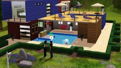 The sims 3 console video game - bf68