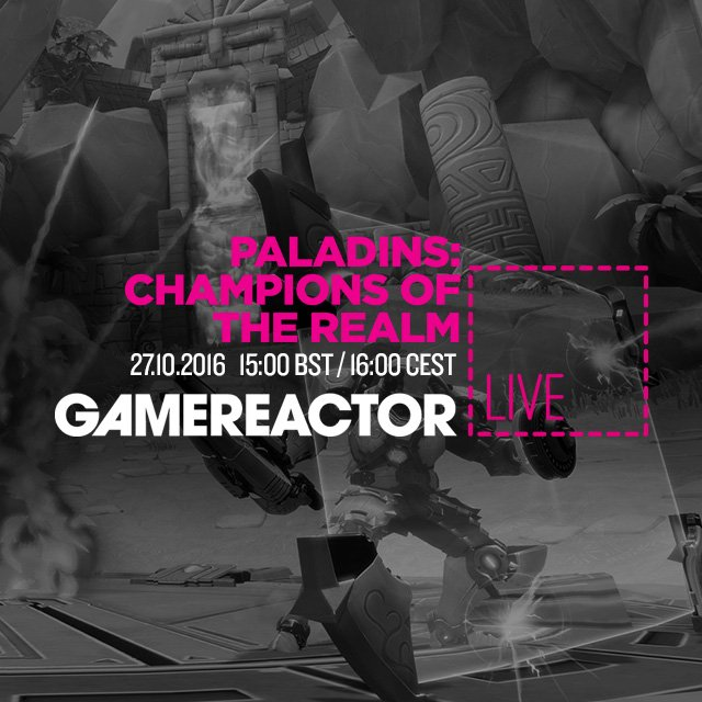 Dagens GR Live: Paladins: Champions of the Realm
