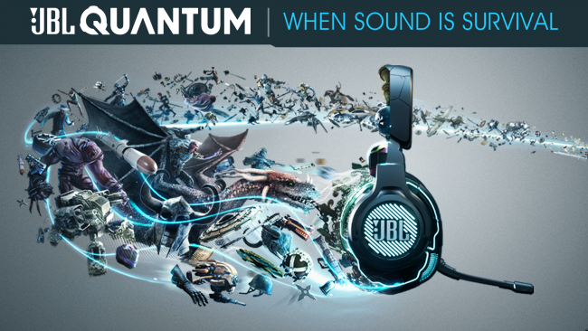 JBL Quantum gaming headsets - gaming surround på en helt ny måde