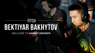 Fitch comes in as a new recruit for Gambit Esports