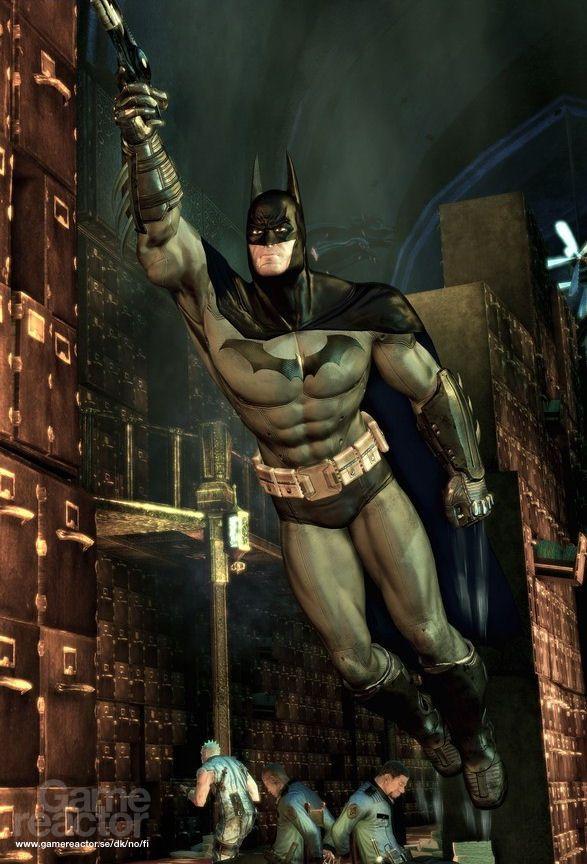 Моды к batman arkham city