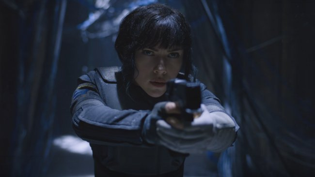 Her er det første kig på Ghost in the Shell-filmen