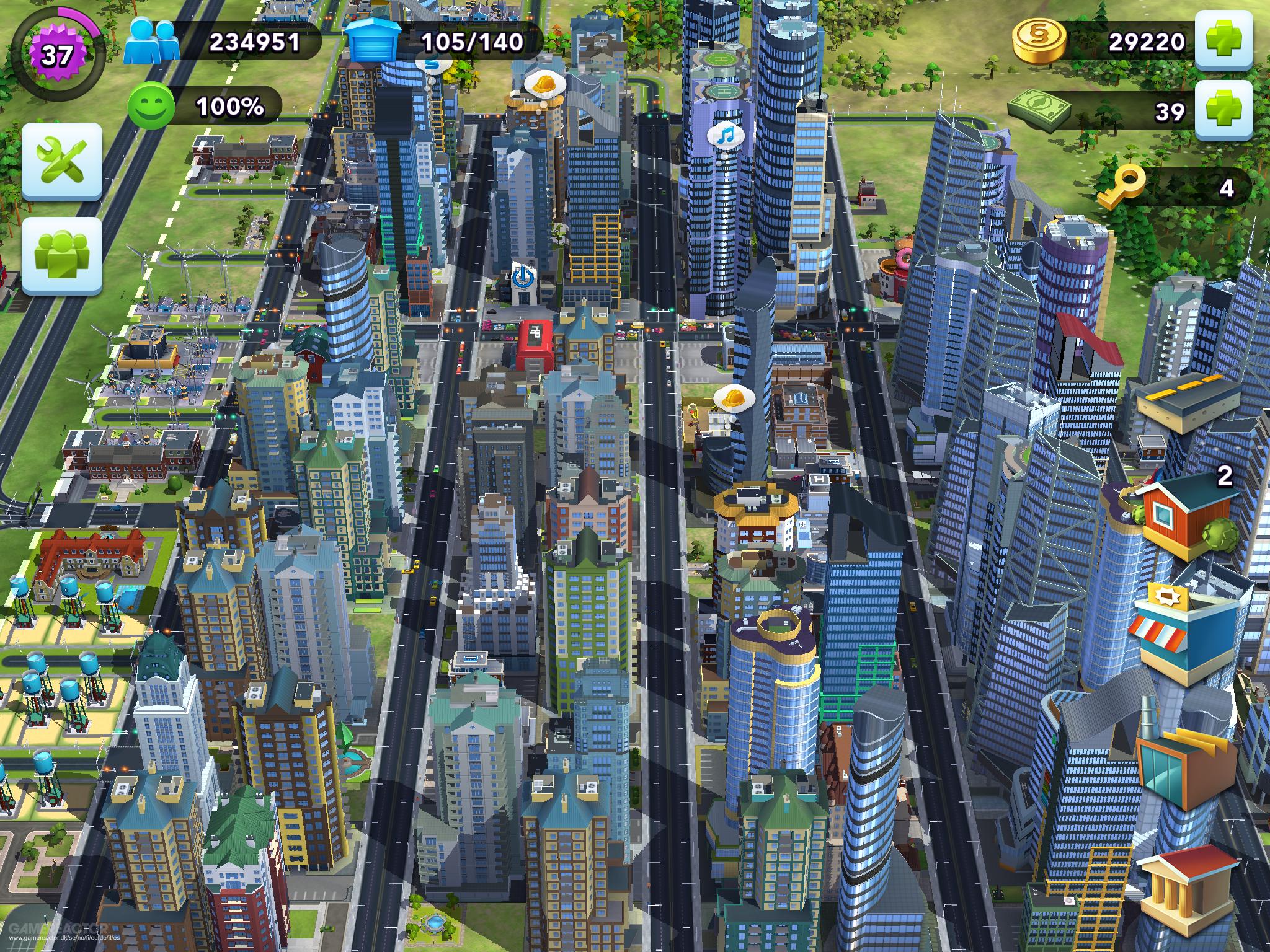 Ville Parfaite Simcity Buildit
