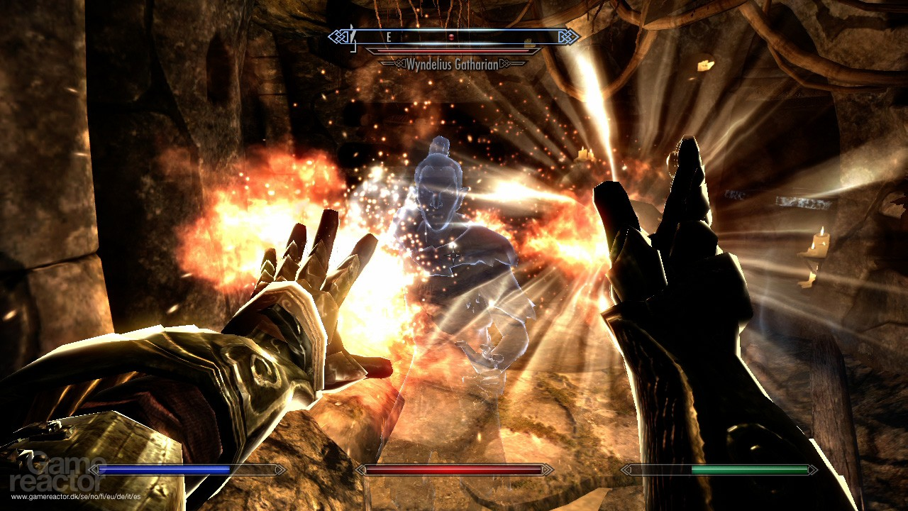 how to use kinect for skyrim