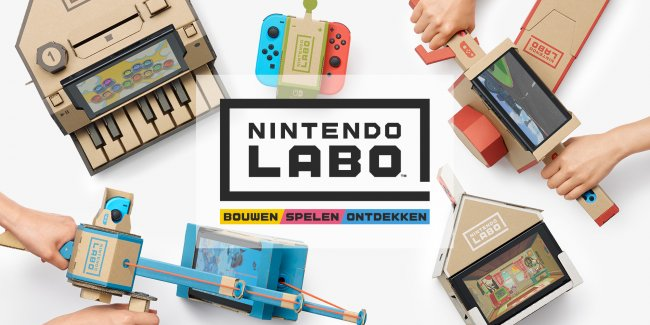 Addetti delle pulizie scambiano i kit di Nintendo Labo per immondizia