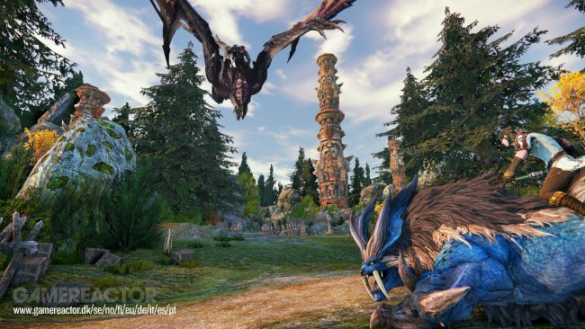 Riders of Icarus får ny gameplay-trailer