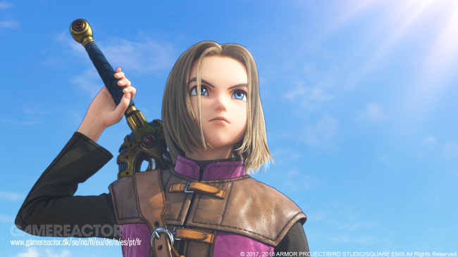 Dragon Quest XI per Switch si basa sulla versione PS4