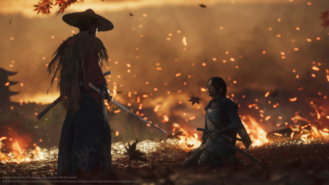 Sony-chef bliver ofte chokeret over Ghost of Tsushima-grafik