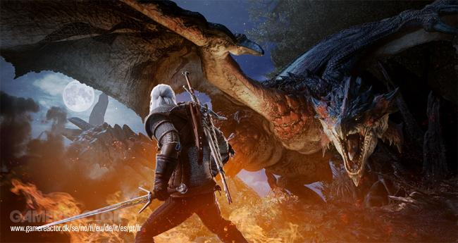 Geralt of Rivia ankommer til Monster Hunter: World i 2019