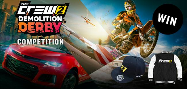 Vi fejrer The Crew 2 Demolition Derby med ny video og konkurrence
