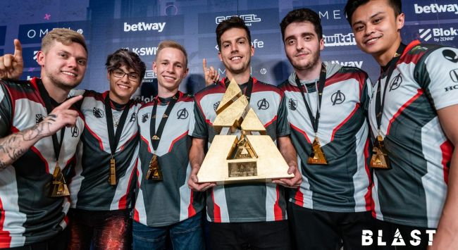 Liquid add to trophy collection with Blast Pro Series LA