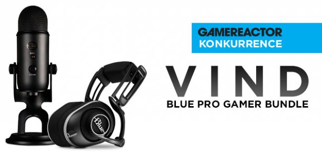 Vind en fed Pro Gamer Bundle fra Blue Microphones
