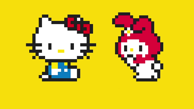 Hello Kitty gæsteoptræder i Super Mario Maker