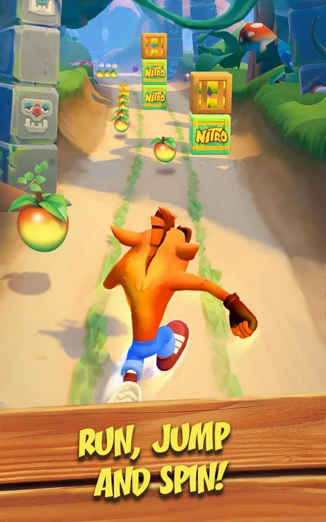 Crash Bandicoot: On the Run! er annonceret