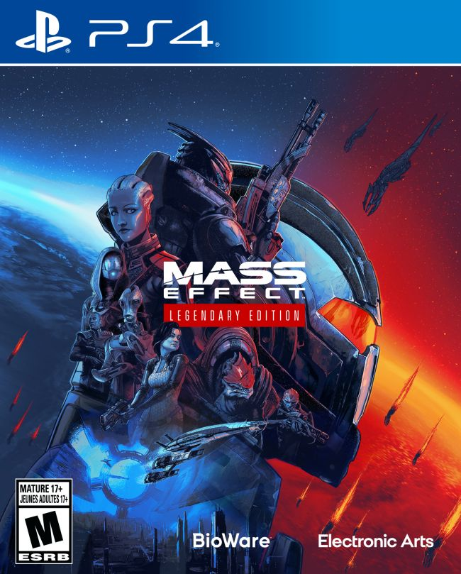 Mass Effect Legendary Edition er officielt færdigudviklet