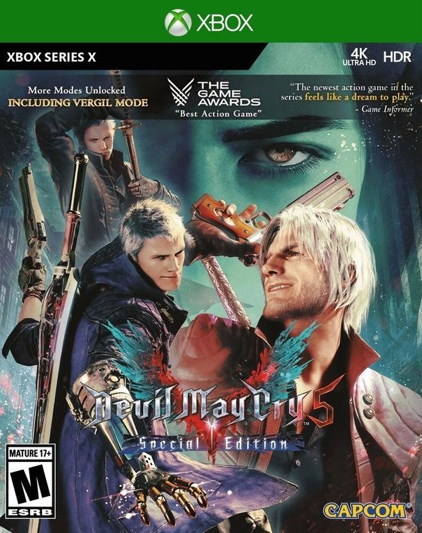 Devil May Cry 5: Special Edition kan køre i 120fps