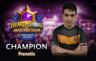 Frenetic vinder Hearthstone Masters Tour Online: Montreal