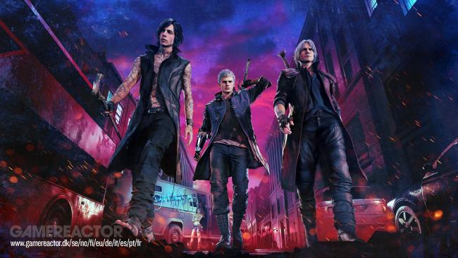 Devil May Cry 5 har online multiplayer for op til tre spillere