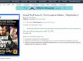 Amazon slår salgsopstilling op for GTA IV Complete Edition til PS5