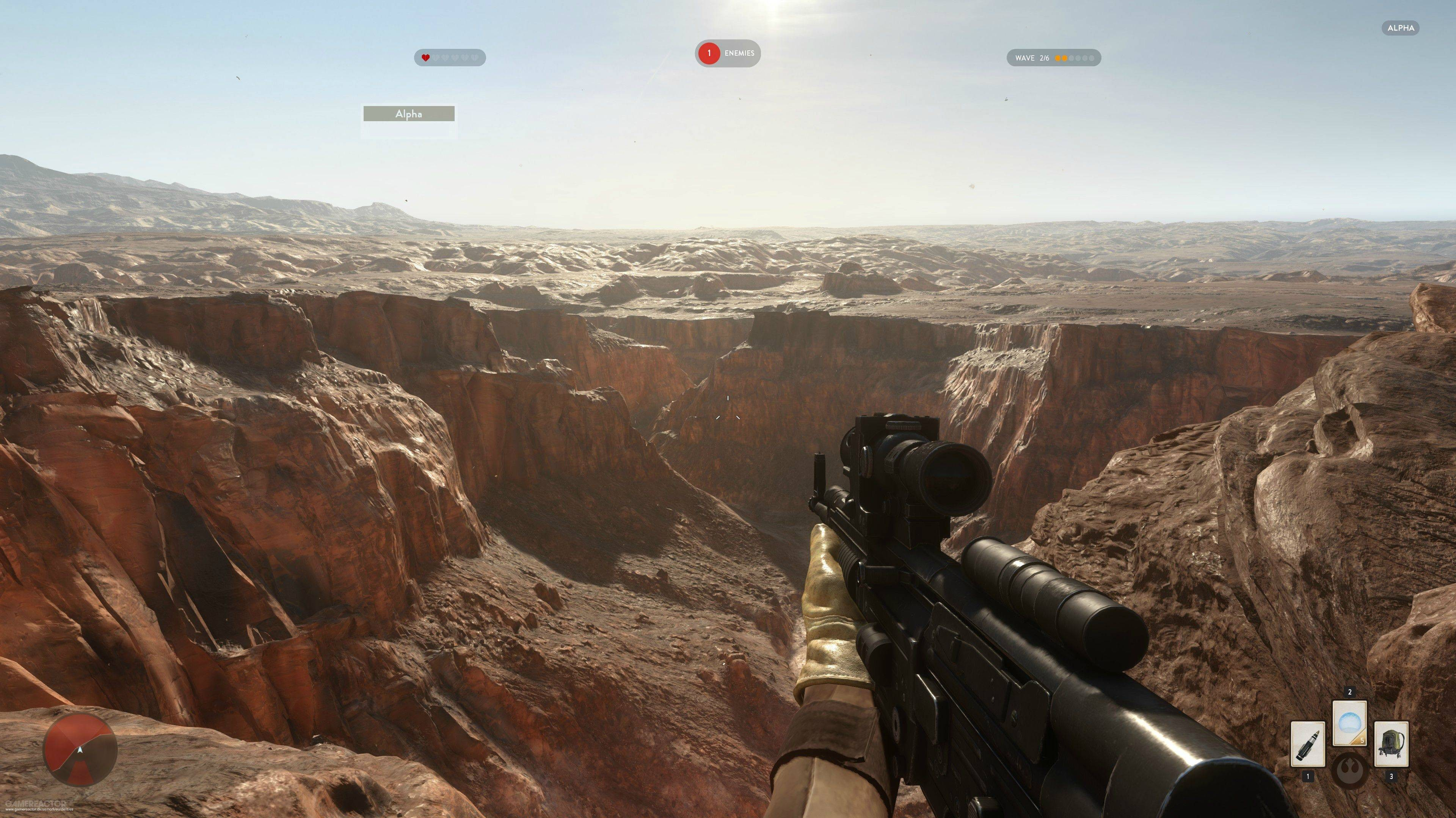 Billeder af Se de smukke 4K-billeder fra Star Wars Battlefront 11/22