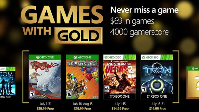 Her er juli måneds Games with Gold på Xbox