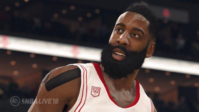 James Harden sarà la cover star di NBA Live 18