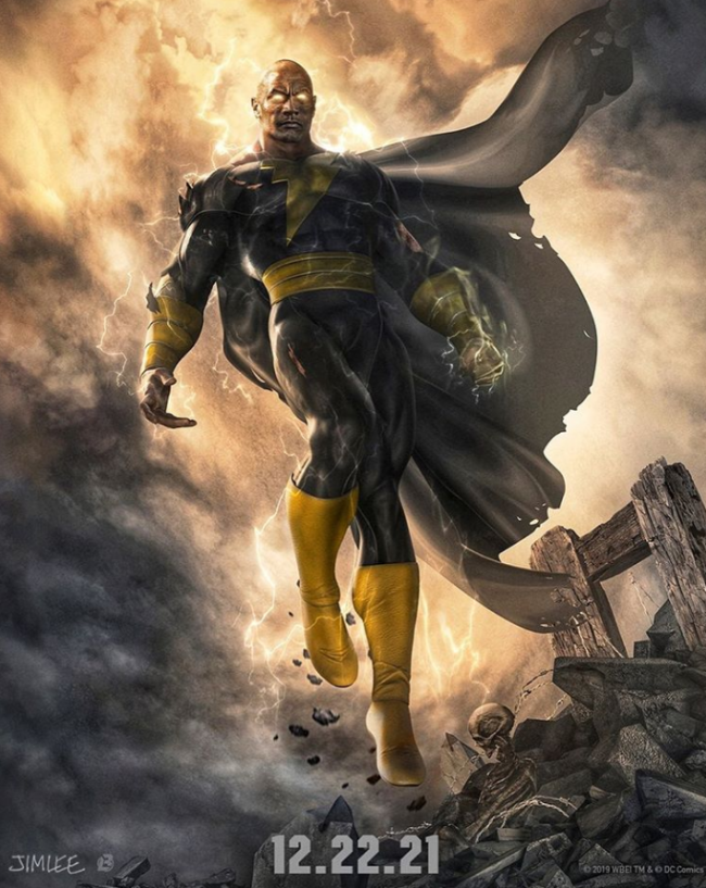 Dwayne Johnson fastsætter premieredato for Black Adam-film