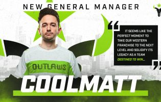 Houston Outlaws byder velkommen til Coolmatt som ny manager