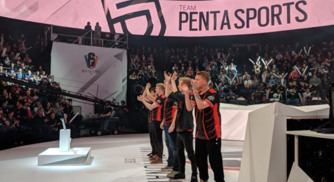 Penta Sports win the Six Invitational 2018