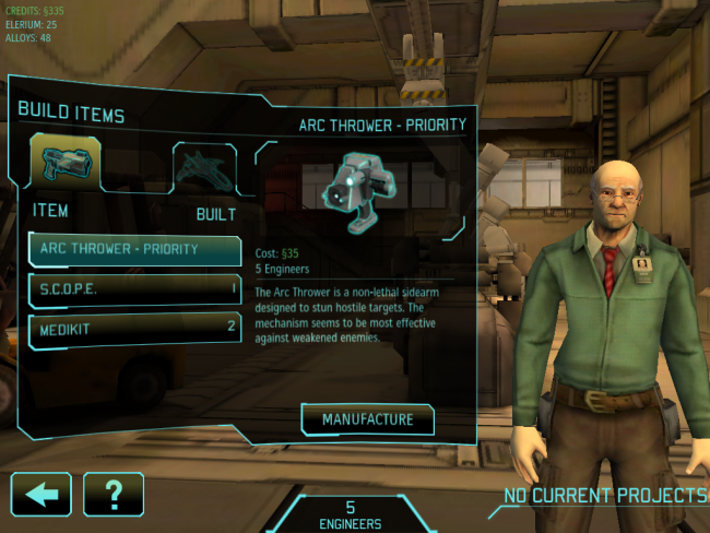 Xcom: Enemy Unknown - Smartphone