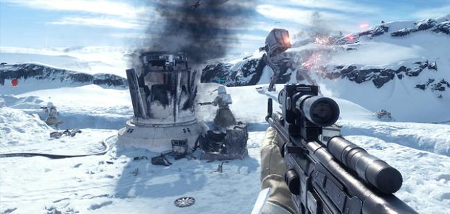 Nye flotte 4K-billeder fra Star Wars Battlefront - Gamereactor Danmark