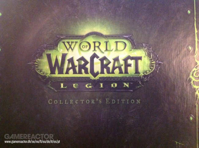 Vi pakker World of Warcraft: Legion Collector's Edition ud