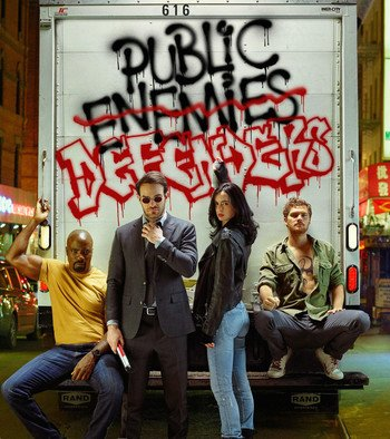 Ny Marvel's The Defenders trailer vist under Comic-Con