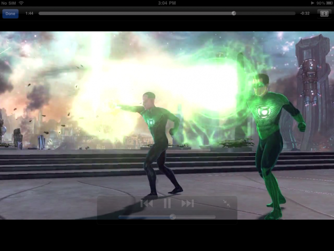 Green Lantern: Rise of the Manhunters iOS