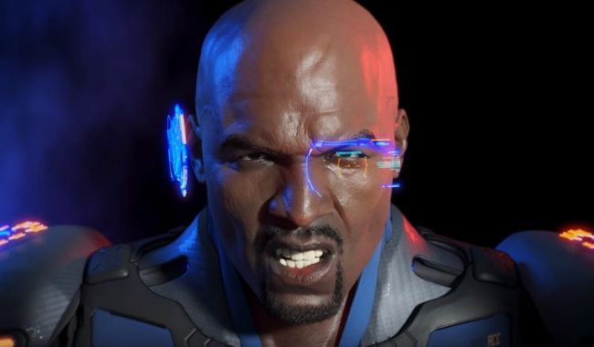 Terry Crews er Commander Jaxon i Crackdown 3
