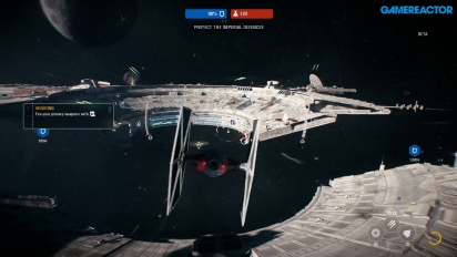 Star Wars Battlefront II - Starfighter Assault Multiplayer Gameplay