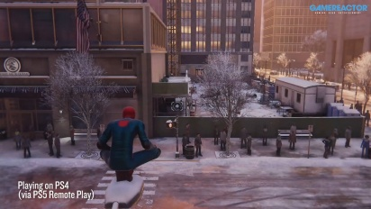 Spider-Man: Miles Morales - PS5 to PS4 streaming with Remote Play