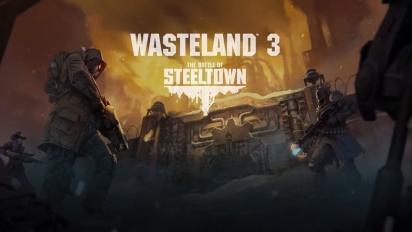Wasteland 3 - The Battle of Steeltown Announcement Teaser