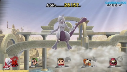 Super Smash Bros. for Wii U - Mewtwo Gameplay