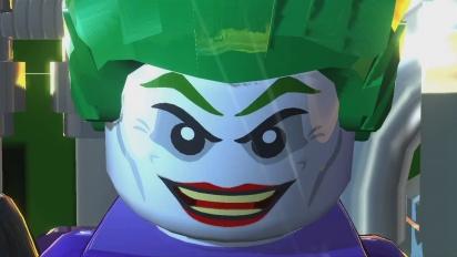 Lego Batman 2: DC Super Heroes - Wii U Launch Trailer