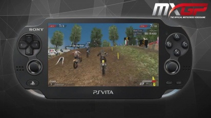 MXGP - The Official Motocross Videogame - PS Vita Gameplay