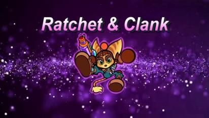 Super Bomberman R - Voice Actors for Ratchet & Clank Trailer